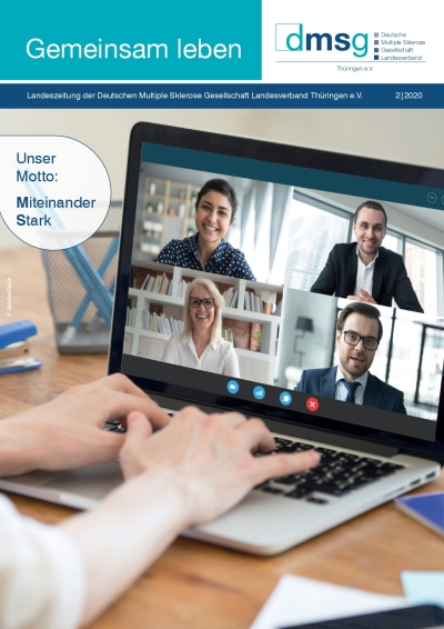 Titelbild DMSG Landeszeitung für Thüringen